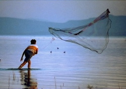 Lake Chapala fisherman