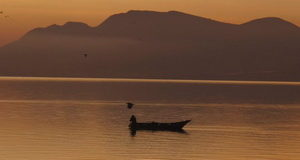 Lake Chapala fisherman