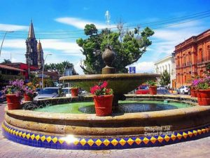 Lake Chapala fountain
