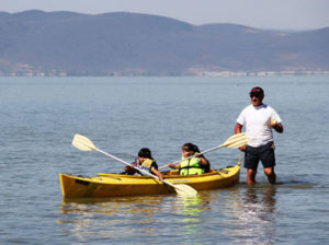 Kayaking at Lake Chapala